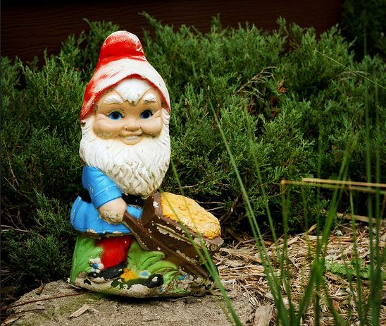 The gnome of nightmares (Picture: Flickr/ Splityarn)